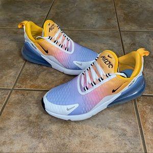 Nike Air Max 270 Sneaker Shoes University sz 8